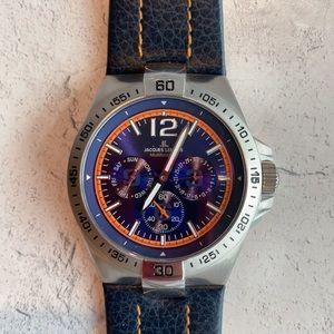 Jacques Lemans Chrono Watch.  NWOT